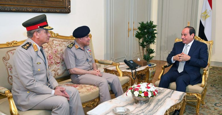 Behind Egyptian Law on Treatment of Senior Army Commanders