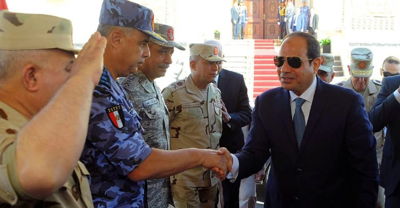 Sisi maintains repositioning of military leaders