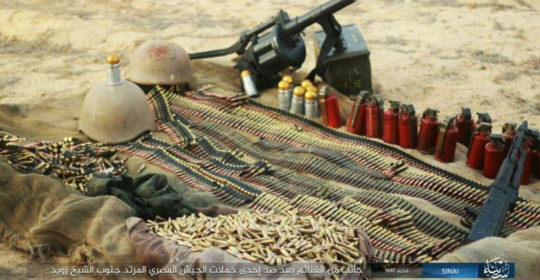 Egypt: Sinai Security Status in September