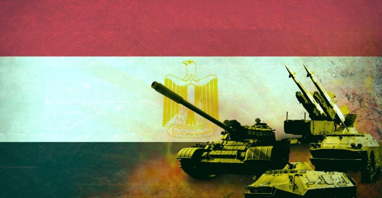 Egypt Army Command Changes and Armament - Dec.