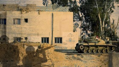 Development of the military situation in Sinai – July