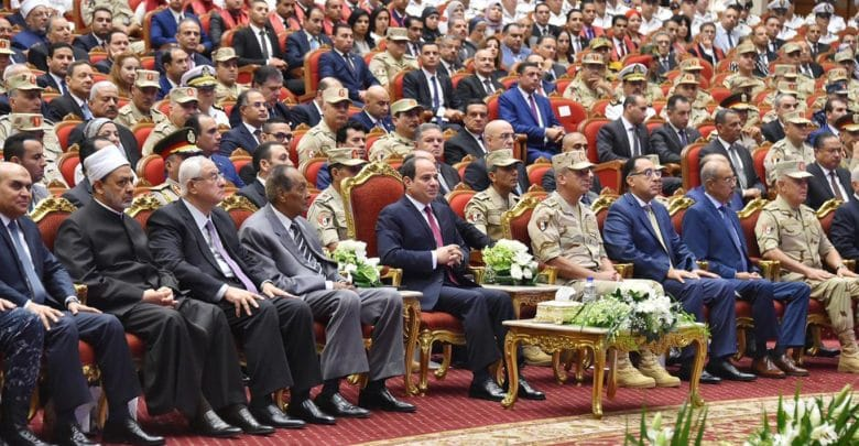 Sisi's Messages at the Army's 31st.