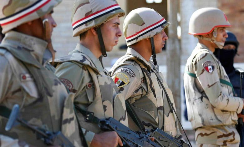 Situation of Egypt Military Institution in January