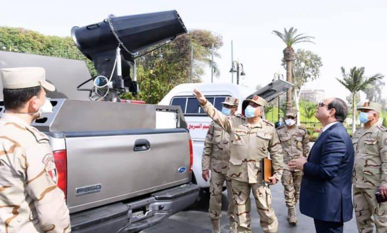 مصر وخيارات التعامل الحكومي مع جائحة كورونا